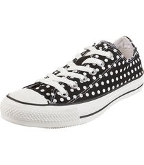 zapatilla  negra  converse  chuck taylor all star