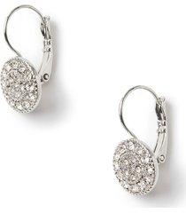 radiant drop earrings