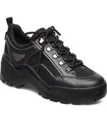 brooke lace up låga sneakers svart michael kors shoes