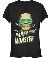 fifth sun universal monsters women's frankenstein party monster short sleeve tee shirt