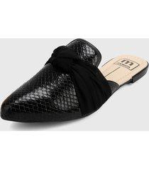 slipper negro moleca