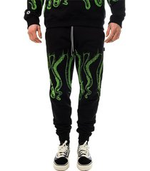 octopus outline sweatpants