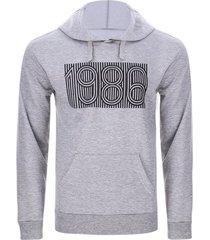 buzo hombre 1986 color gris, talla l