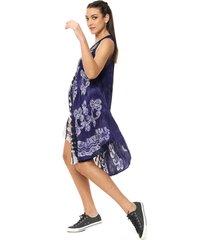 vestido violeta donadonna