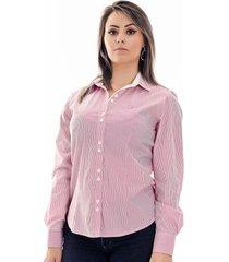 camisa pimenta rosada bella