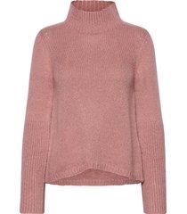 pullover ls turtleneck coltrui roze rosemunde