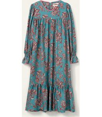 oilily dabin jurk- turquoise