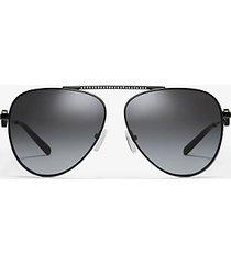 mk occhiali da sole salina - nero (nero) - michael kors