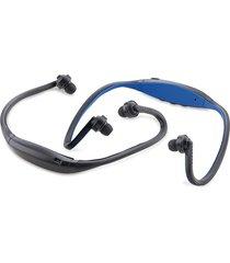 audifonos bluetooth diseño ergonomico para deporte - azul