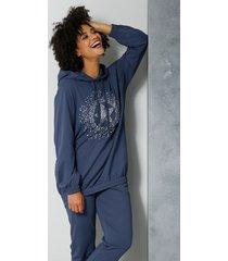 sweatshirt angel of style blauw