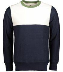 anerkjendt sweater - slim fit - blauw
