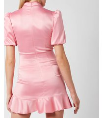 de la vali women's bluebell dress - pink - uk 12