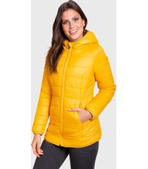 parka everlast final amarillo - calce regular