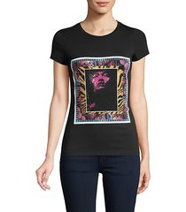 crystal graphic tee