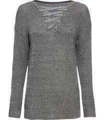 maglione  con stringatura (grigio) - rainbow