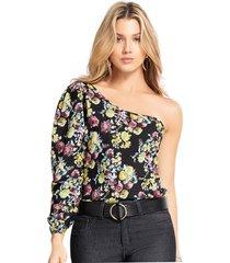 blusa adulto femenino estampado flores marketing  personal