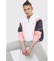 chaqueta blanco-rosa-azul calvin klein