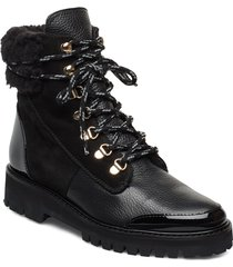 selma shoes boots ankle boots ankle boot - flat svart flattered