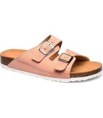 biabetricia buckle sandal shoes summer shoes flat sandals rosa bianco