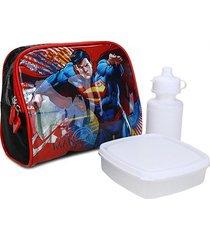 lancheira infantil luxcel superman