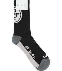 off-white off mid sport socks