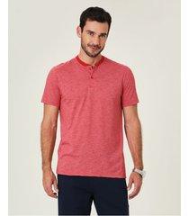 camiseta tradicional fio a fio malwee vermelho - pp