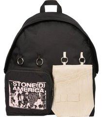 raf simons designer men's bags, raf simons x eastpak padded doubl'r backpack