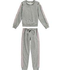 pijamas longos malwee liberta malwee liberta cinza
