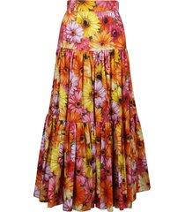dolce & gabbana floral print long skirt