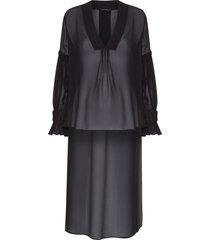 blusa feminina fátima - preto