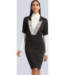 jurk alba moda antraciet