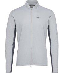alex golf mid layer sweat-shirts & hoodies fleeces & midlayers grijs j. lindeberg golf