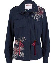 giacca militare stampata (blu) - john baner jeanswear