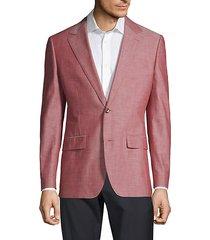 foundation slim-fit chambray jacket