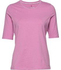 t-shirt 3/4-sleeve r t-shirts & tops short-sleeved rosa gerry weber edition