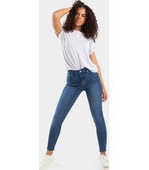harper heritage medium wash stretch skinny jeans - medium wash