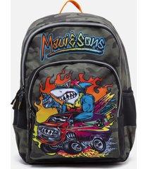mochila escolar verde maui and sons