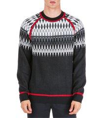 maglione maglia uomo girocollo norwegian