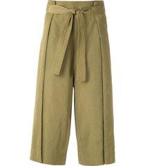 uma raquel davidowicz acapulco skirt culottes - green
