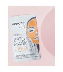amaro feminino oceane máscara facial 2 etapas - dual-step mask, amendoa