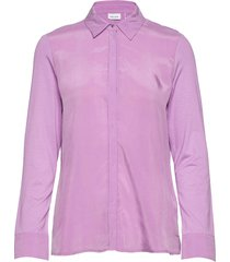 blouse long-sleeve blouse lange mouwen paars gerry weber