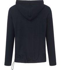 hoody-shirt met lange mouwen van margittes blauw
