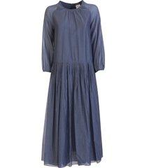 s max mara max mara adatti cotton and silk voile dress