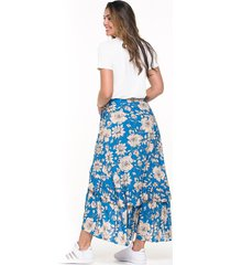 falda larga estampada cruzada en colores marca trucco's