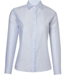 camisa dudalina cetim feminina (branco, 56)