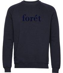 ace sweatshirt sweat-shirt trui blauw forét
