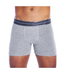 cueca boxer em algodão com elastano lupo .