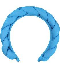simonetta light blue headband for girl