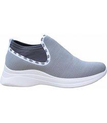 zapatilla gris boaonda soft