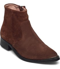 electric w suede sho shoes boots ankle boots ankle boot - flat brun sneaky steve
